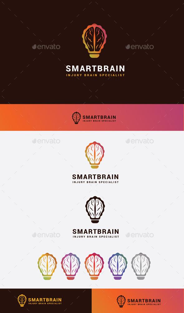 GraphicRiver Smart Brain Logo 10608370