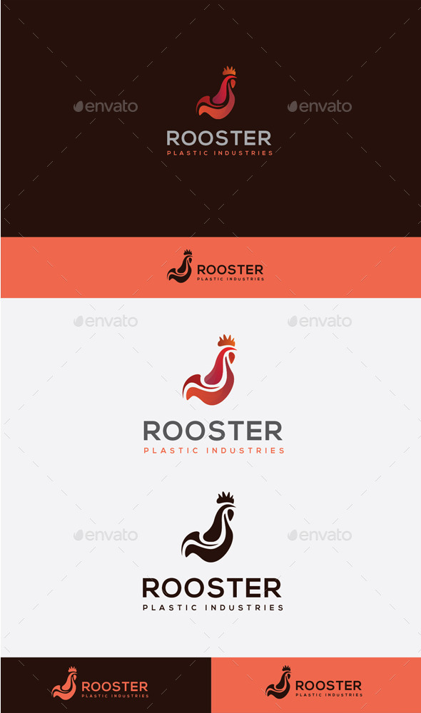 GraphicRiver Rooster Logo 10608388