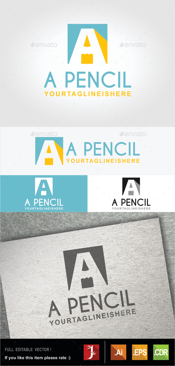GraphicRiver A Pencil 10608682