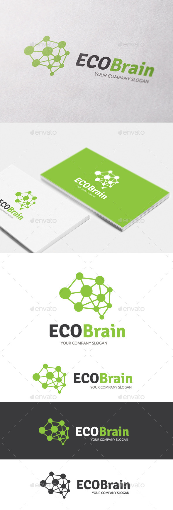 GraphicRiver Eco Brain 10608786