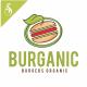 Burganic - Burger Organic Logo Templates - GraphicRiver Item for Sale