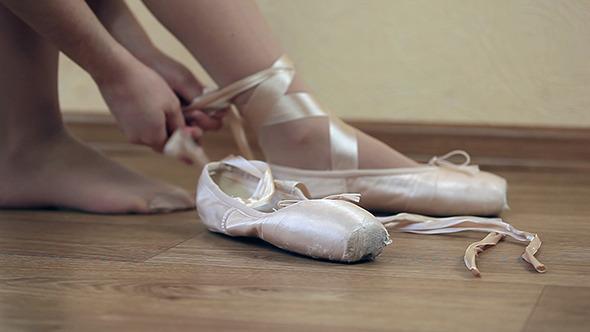 VideoHive Women Ballet Shoes 10608939
