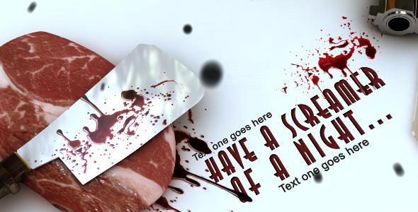 After Effects Project - VideoHive Halloween Video Ecard 132994