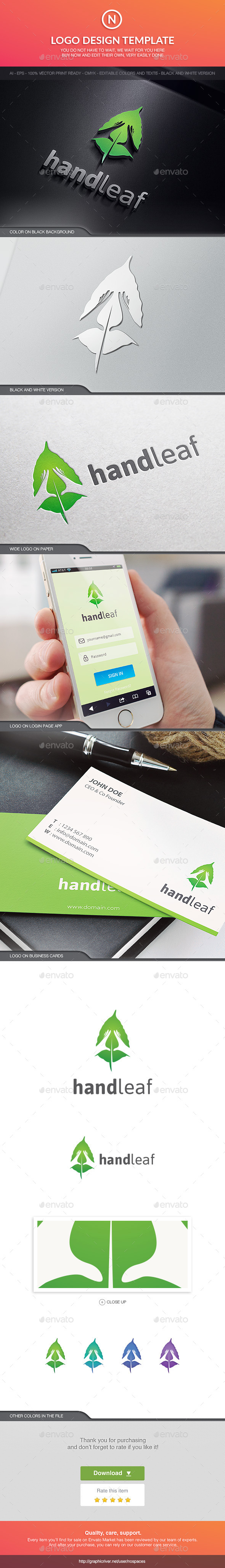 GraphicRiver Han and Leaf 10609015