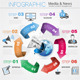 Media and News Infographics - GraphicRiver Item for Sale