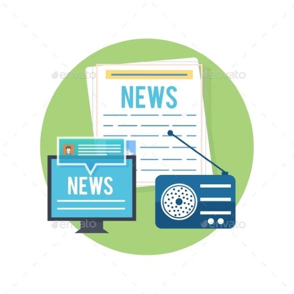 GraphicRiver Mass Media Concept 10609327