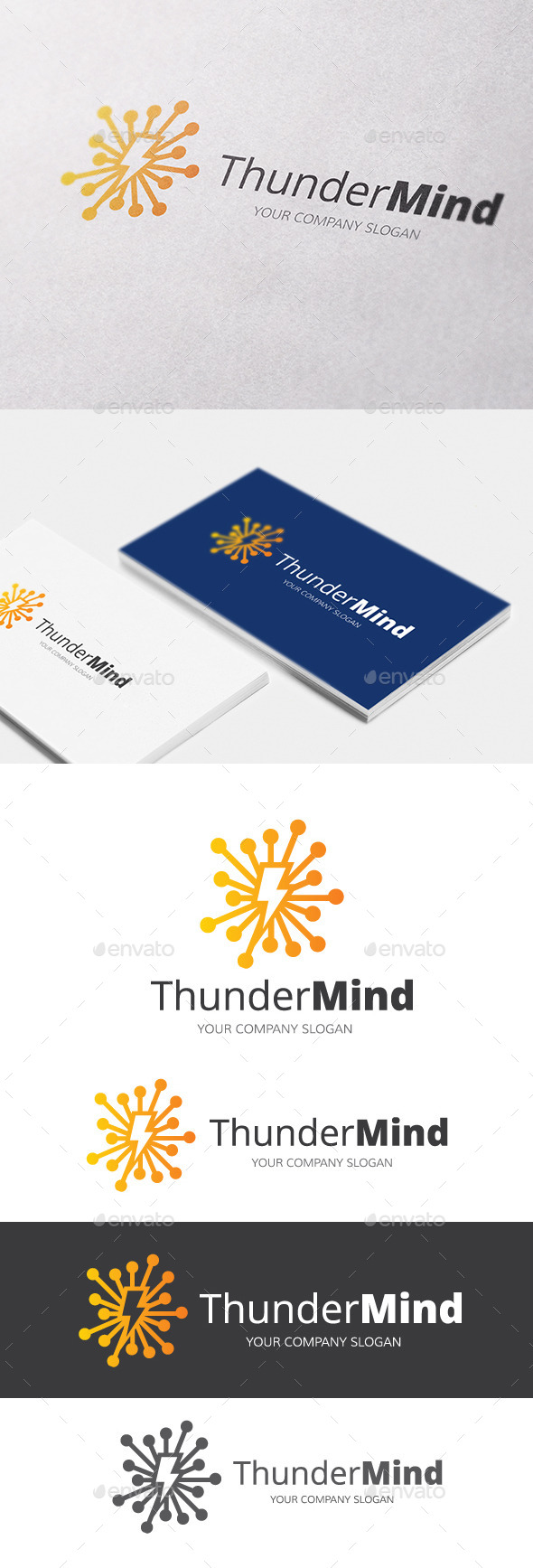 GraphicRiver Thunder Mind 10609856