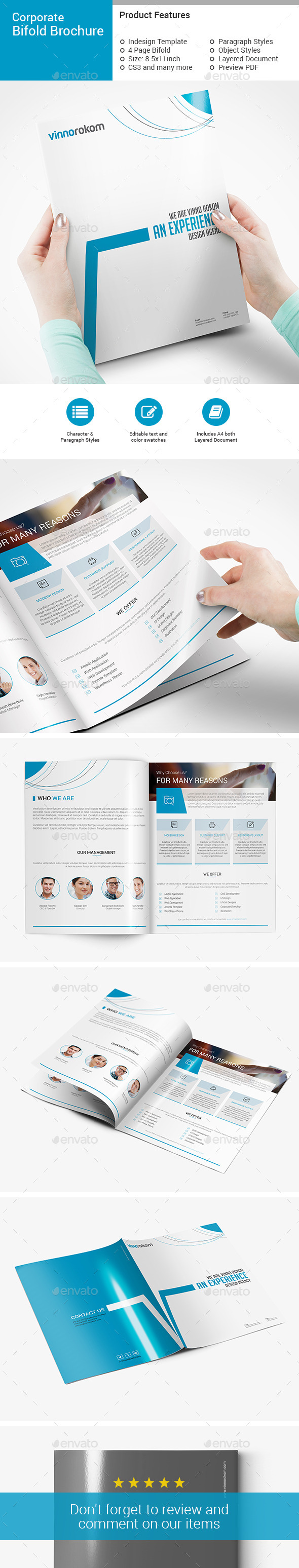 GraphicRiver Bifold Brochure 10518266