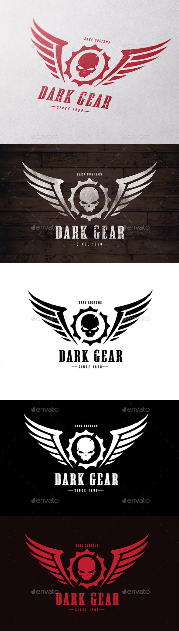 GraphicRiver Dark Gear 10609954