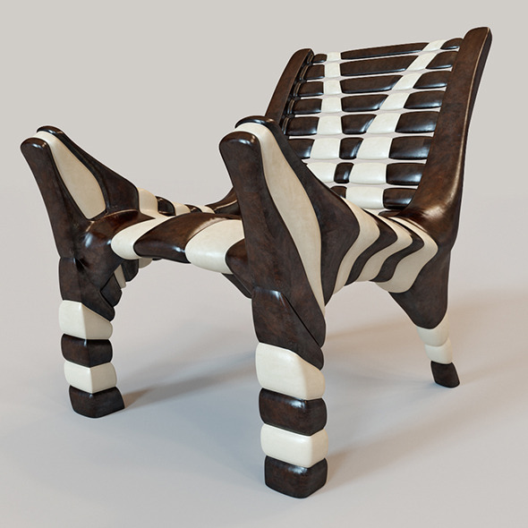 3DOcean African chair 2 10609969
