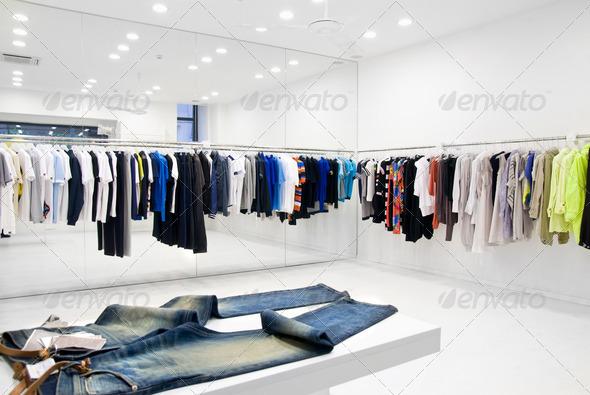 PhotoDune modern store interior 1112130