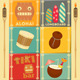 Hawaii Cards - GraphicRiver Item for Sale