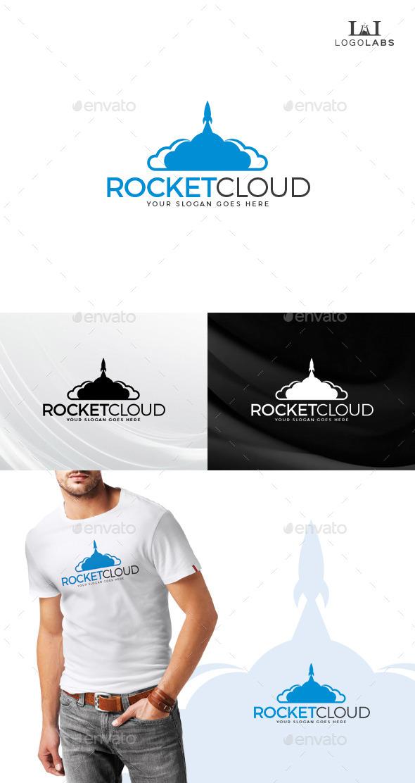 GraphicRiver Rocket Cloud Logo 10610774