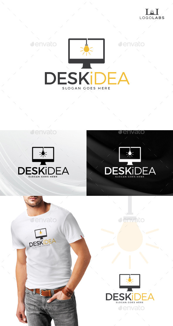 GraphicRiver Desk Idea Logo 10610992