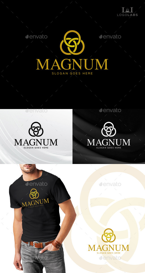 GraphicRiver Magnum Luxury Logo 10611252
