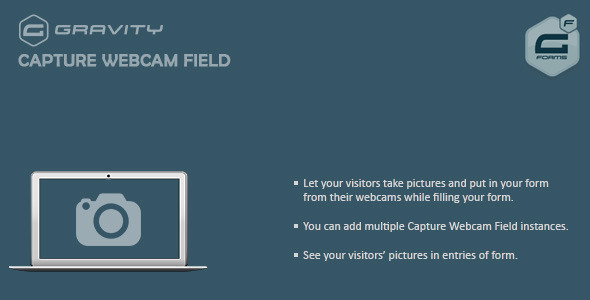 CodeCanyon Gravity Forms Capture Webcam Field 10476111