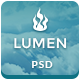 Lumen - Multi-purpose PSD Template - Business Corporate