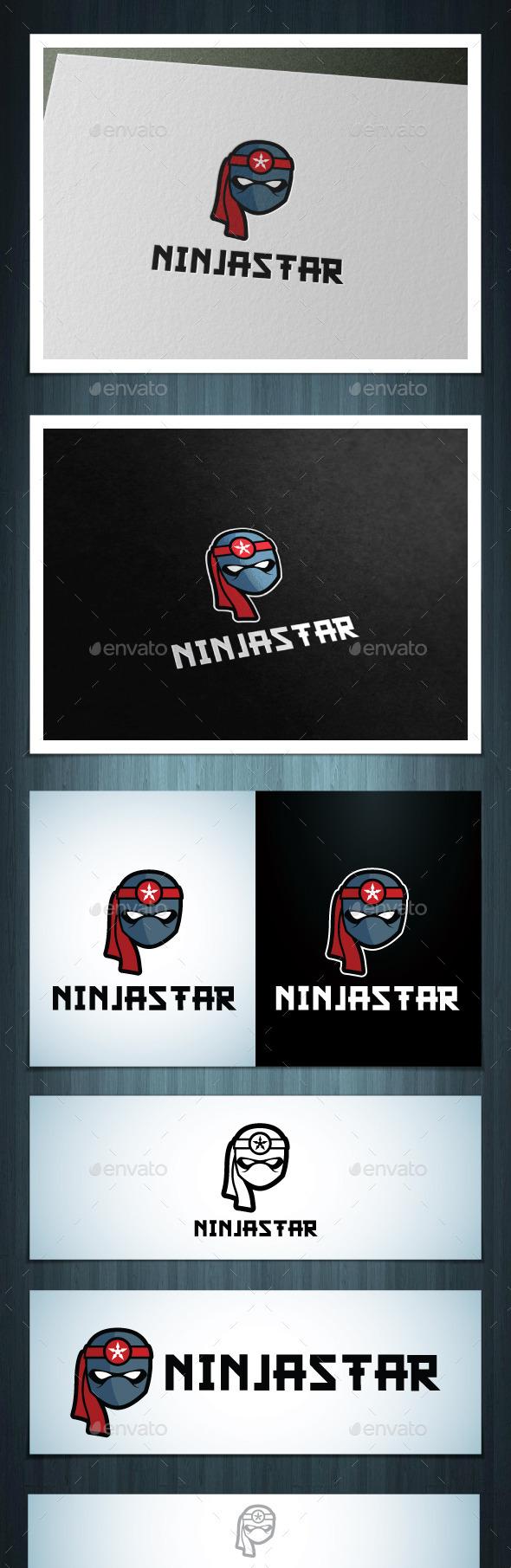 GraphicRiver Ninja Star 10611808