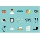Office Supplies Set  - GraphicRiver Item for Sale