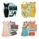 Fashion Set  - GraphicRiver Item for Sale