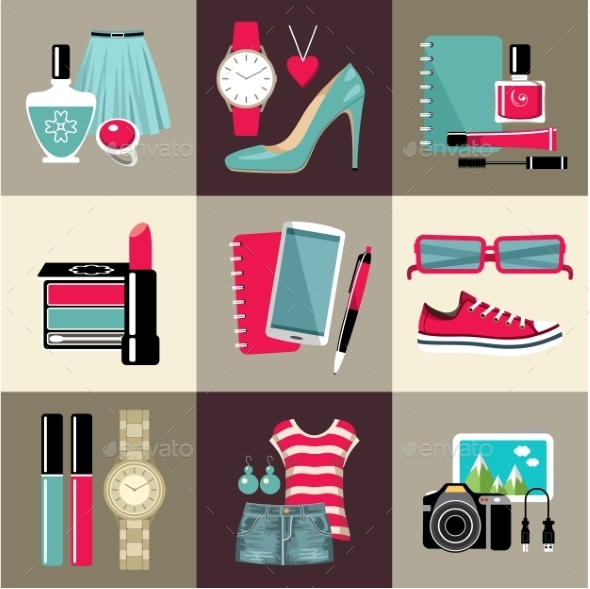 GraphicRiver Fashion Set 10611849