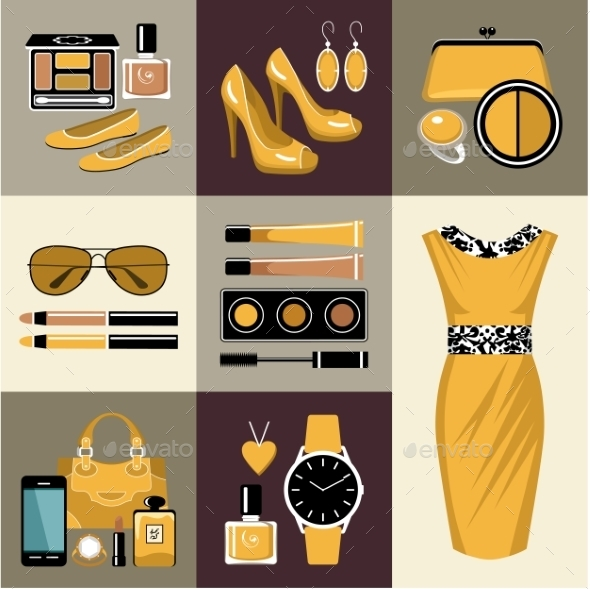 GraphicRiver Fashion Set 10611862