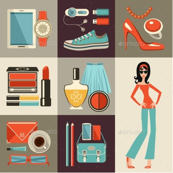 GraphicRiver Fashion Set 10611868