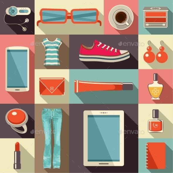 GraphicRiver Fashion Set 10611886