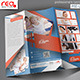 Fitness Club Trifold Brochure Template - GraphicRiver Item for Sale