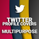 Twitter Profile Covers - Multipurpose - GraphicRiver Item for Sale