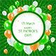 St Patricks Day - GraphicRiver Item for Sale