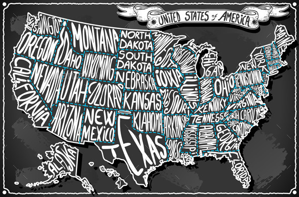 GraphicRiver United States of America on Vintage Sketch 10612324