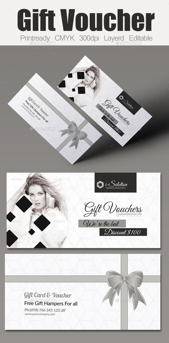 GraphicRiver Multi Use Business Gift Voucher 10612414