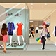 Woman Shopping in a Mall - GraphicRiver Item for Sale