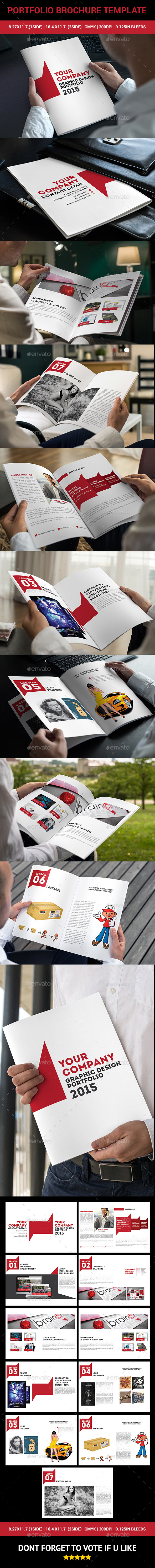 GraphicRiver Portfolio Brochure Template 10614306