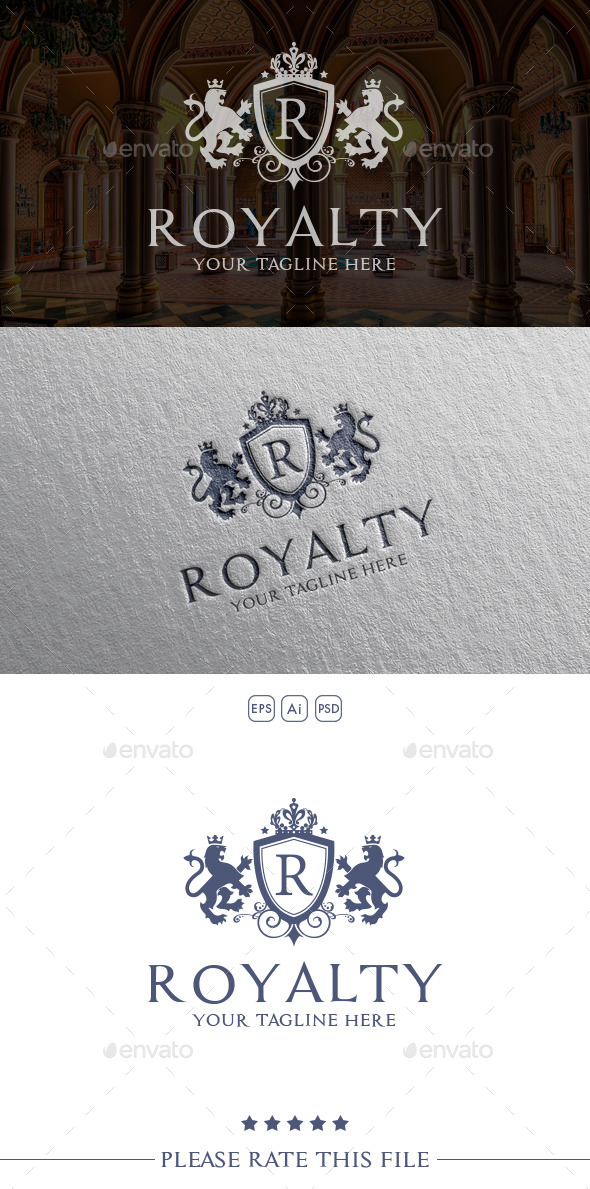 GraphicRiver Royalty Lion Logo 10614329
