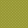 Seamless spring pattern with white polka dots on green tile background. - PhotoDune Item for Sale