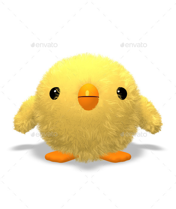 GraphicRiver Easter Chick 10614393