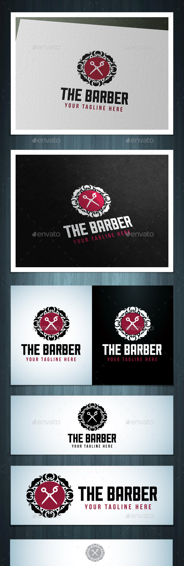 GraphicRiver The Barber 10614429