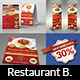 Restaurant Advertising Bundle Vol.2 - GraphicRiver Item for Sale