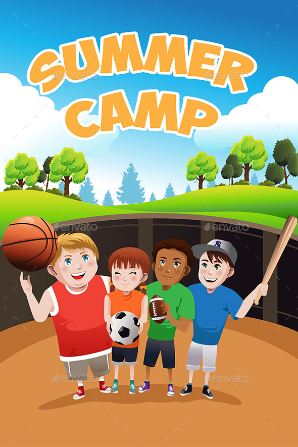 GraphicRiver Summer Camp 10614528