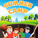Summer Camp  - GraphicRiver Item for Sale