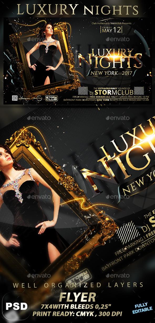 GraphicRiver Luxury Nights 10614641