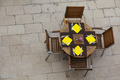 Outdoor summer cafe tables with chairs - PhotoDune Item for Sale
