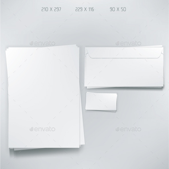 GraphicRiver Empty Stationery Elements 10614691
