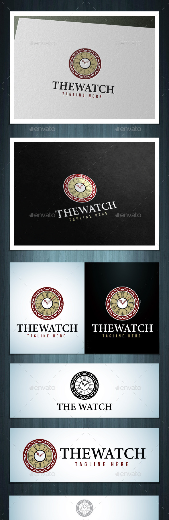 GraphicRiver The Watch 10615078