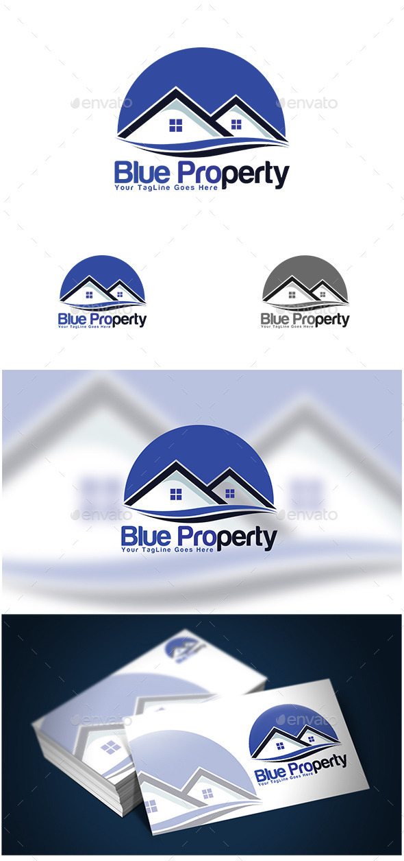 GraphicRiver Real Estate Logo Template 10616055