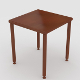 Small, side table nr.04 (uv unwrapped, textured) - 3DOcean Item for Sale