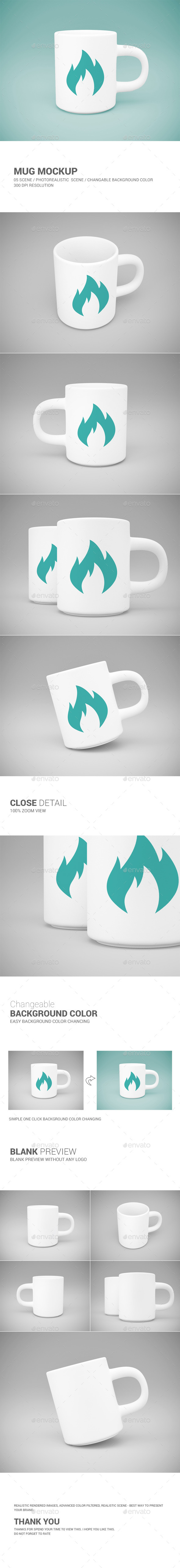 GraphicRiver Mug Mock-Up 10595950