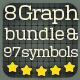 8 Graph Boards and 97 Icons - GraphicRiver Item for Sale